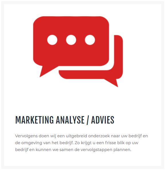Marketing analyse/ advies